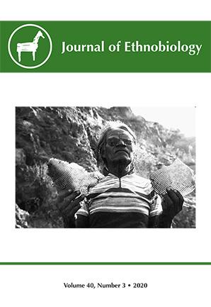 Journal of Ethnobiology Volume 40, NUMBER 3