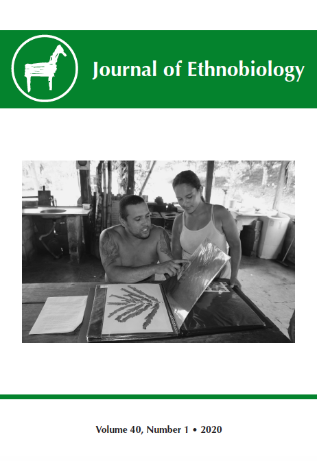 Journal of Ethnobiology Volume 39, Number 3, 2019