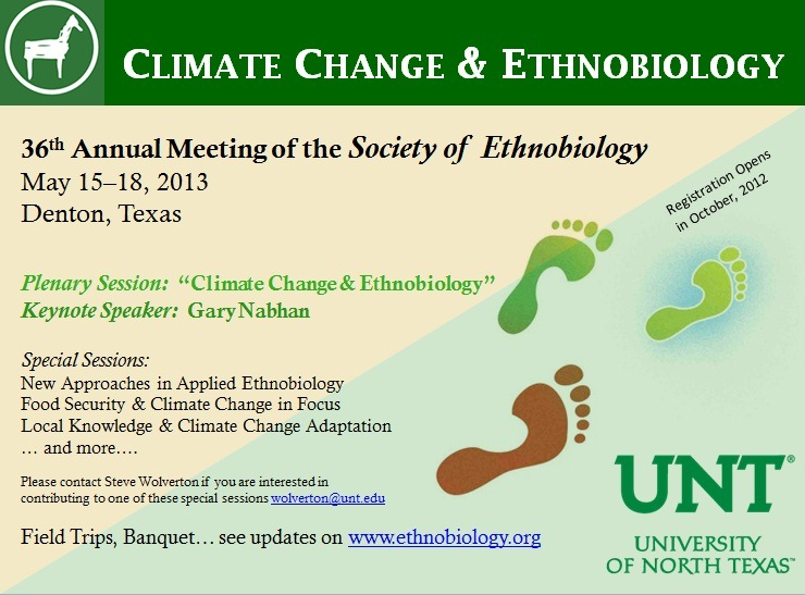 Climate Change and Ethnobiology