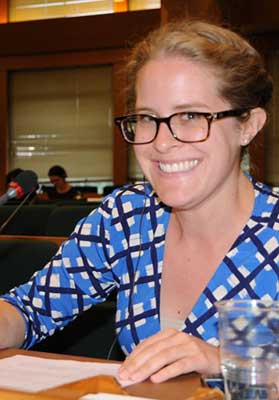 Katlyn Scholl, Foreign Affairs Officer, U.S. Department of State