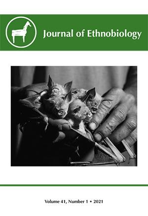 Journal of Ethnobiology Volume 41, NUMBER 1