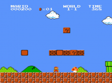 Super Mario Bros (1985) power-up, CC labeled for reuse.